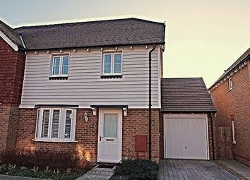 Thumbnail 3 bed semi-detached house for sale in Langley Way, West Malling