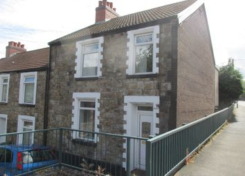 Thumbnail 3 bed end terrace house for sale in Church Street, Pontlottyn, Bargoed