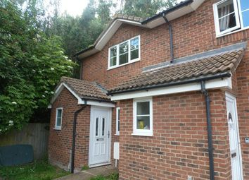 Thumbnail 2 bed end terrace house to rent in Homelands, Guyhirn, Wisbech