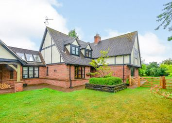 Thumbnail 4 bed detached house for sale in Grange Lane, Little Bytham, Grantham
