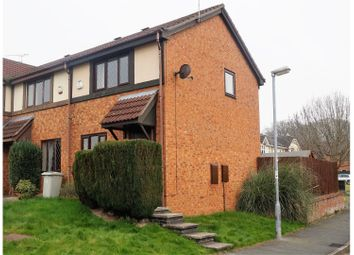 Thumbnail 2 bed end terrace house for sale in Field Lane, Crewe
