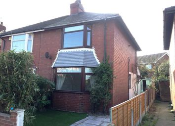 Thumbnail 2 bed semi-detached house to rent in Tennyson Avenue, Thorne, Doncaster