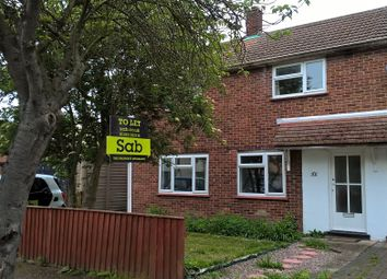 Thumbnail 3 bed semi-detached house to rent in Fishers Lane, Cherry Hinton, Cambridge