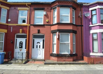 Thumbnail 5 bedroom terraced house for sale in Egerton Road, Wavertree, Liverpool