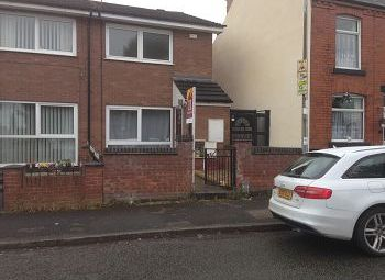 Thumbnail 2 bed semi-detached house to rent in Broom Street, Crewe, Cheshire