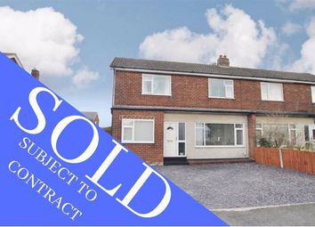 Thumbnail 3 bed semi-detached house for sale in Victoria Road, Buckley, Flintshire