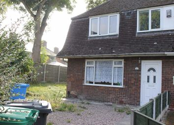 Thumbnail 3 bed semi-detached house to rent in Altrincham Road, Baguley, Manchester