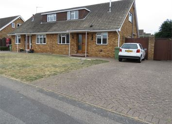 Thumbnail 2 bed semi-detached house for sale in Stanhope Avenue, Sittingbourne, Kent
