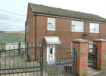 Thumbnail 3 bed semi-detached house for sale in Heol Syr William, Croeserw, Cymmer, Port Talbot, West Glamorgan