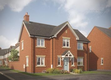 Thumbnail 4 bed detached house for sale in The Grangewood, Chamberlain Place, Bosworth Road, Measham