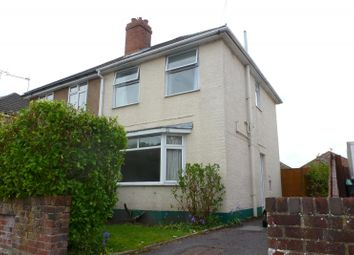 Thumbnail 2 bed semi-detached house to rent in Bradpole Road, Bournemouth