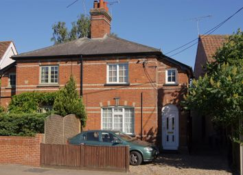 Thumbnail 2 bed cottage for sale in The Street, Fornham All Saints, Bury St. Edmunds