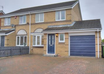 Thumbnail 3 bed semi-detached house for sale in Gladewell Court, Choppington NE62 5Yy