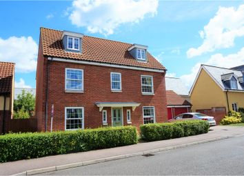 Thumbnail 5 bed detached house for sale in Greenhaze Lane, Great Cambourne, Cambridge