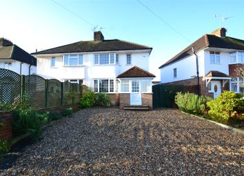 Thumbnail 3 bed semi-detached house to rent in Parkway, Horley