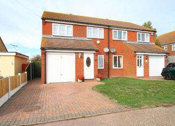 Thumbnail 3 bed semi-detached house for sale in Bishopstone Drive, Herne Bay