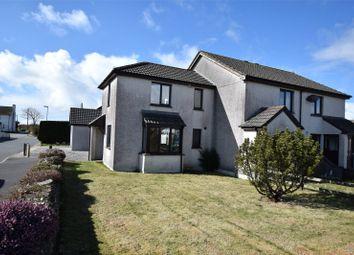 Thumbnail 1 bed end terrace house for sale in Whitecroft Way, Kilkhampton, Bude