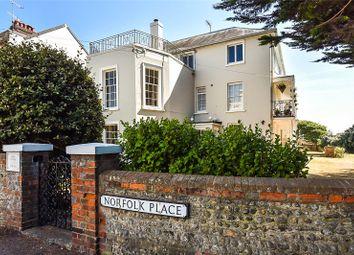 Thumbnail 2 bedroom flat for sale in Surrey Cottage, Norfolk Place, Littlehampton, West Sussex