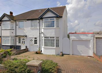 Thumbnail 4 bed semi-detached house for sale in Warwick Avenue, Edgware
