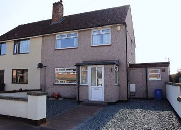 Thumbnail 3 bed semi-detached house for sale in Brisco Road, Carlisle