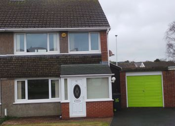 Thumbnail 3 bed semi-detached house to rent in Erw Goch, Waunfawr, Aberystwyth