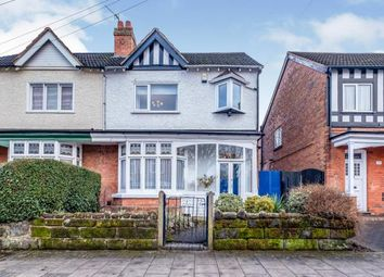 Thumbnail 4 bed semi-detached house for sale in Douglas Road, Acocks Green, Birmingham, West Midlands