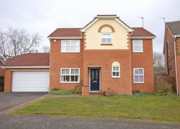 Thumbnail 4 bed detached house for sale in Paddock Hill, Ponteland, Newcastle Upon Tyne