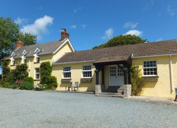 Thumbnail 4 bed farmhouse for sale in Walwyns Castle, Haverfordwest