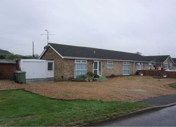 Thumbnail 2 bedroom semi-detached bungalow for sale in Knights End Road, March