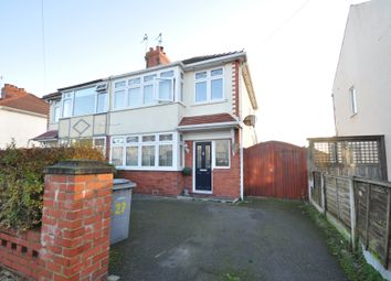 Thumbnail 3 bed semi-detached house to rent in Bispham Drive, Wirral