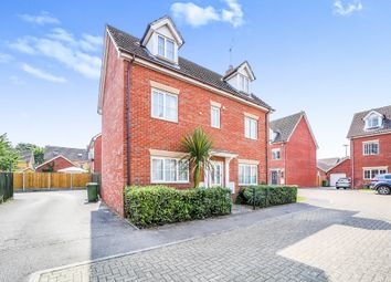 Thumbnail 5 bed detached house for sale in Tottington Close, Thetford