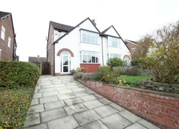 Thumbnail 3 bed semi-detached house for sale in Carrington Lane, Sale