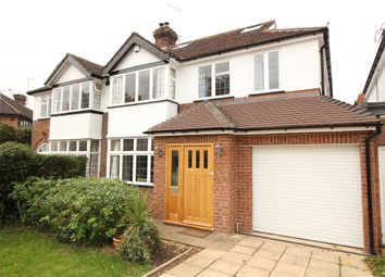 Thumbnail 5 bed semi-detached house for sale in Stanley Avenue, Chiswell Green, St.Albans