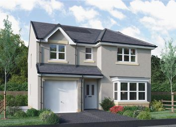 "Thumbnail 4 bed detached house for sale in ""Fletcher"" at Dedridge East Industrial Estate, Abbotsford Rise, Livingston"