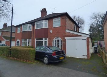 Thumbnail 3 bed semi-detached house for sale in Leith Ave, Sale, Trafford, Greater Manchester