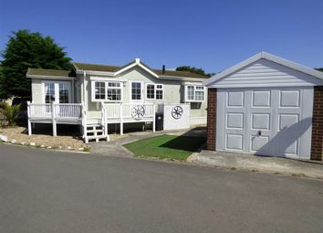 Thumbnail 2 bed mobile/park home for sale in Ash Road, Summer Lane Caravan Park, Banwell
