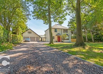 Thumbnail 5 bed detached house for sale in Ludbrook Cottage, Upper Raby Road, Raby, Cheshire