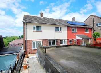 Thumbnail 2 bedroom semi-detached house for sale in Elgin Crescent, Crownhill, Plymouth