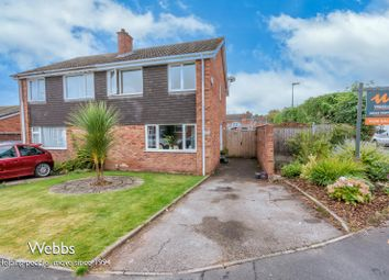 Thumbnail 3 bed semi-detached house for sale in St. Annes Road, Lichfield