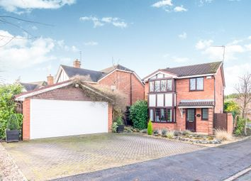 Thumbnail 4 bed detached house for sale in Hawkesmoor Drive, Lichfield