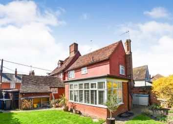 Thumbnail 4 bed end terrace house for sale in Benton Street, Hadleigh, Ipswich