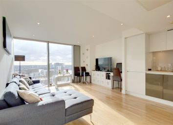 Thumbnail 1 bed flat for sale in Landmark West, Marsh Wall, London