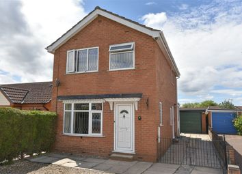 Thumbnail 3 bed detached house for sale in Wheatcroft, Strensall, York