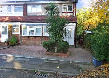 Thumbnail 4 bedroom end terrace house for sale in High Meadows, Chigwell, Essex
