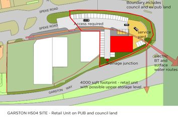 Thumbnail Land for sale in Speke Road, Liverpool