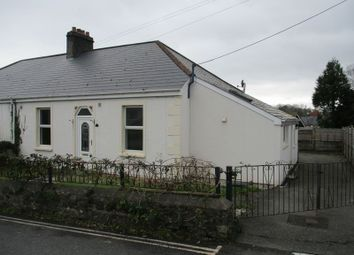 Thumbnail 2 bed semi-detached bungalow for sale in Eliot Road, St. Austell