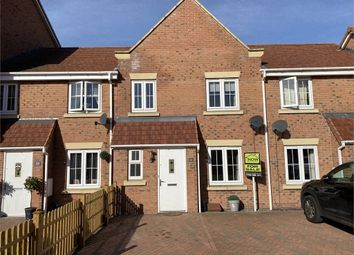 Thumbnail 3 bed terraced house to rent in Kings Sconce Avenue, Newark, Nottinghamshire.