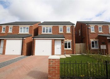 Thumbnail 3 bed detached house to rent in Sandringham Way, Newfield, Chester Le Street, County Durham