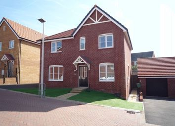 Thumbnail 4 bedroom detached house for sale in Heol Y Sianel, Rhoose, Barry