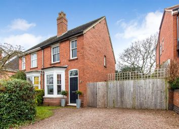 Thumbnail 2 bed semi-detached house to rent in Upland Grove, Bromsgrove, Worcestershire